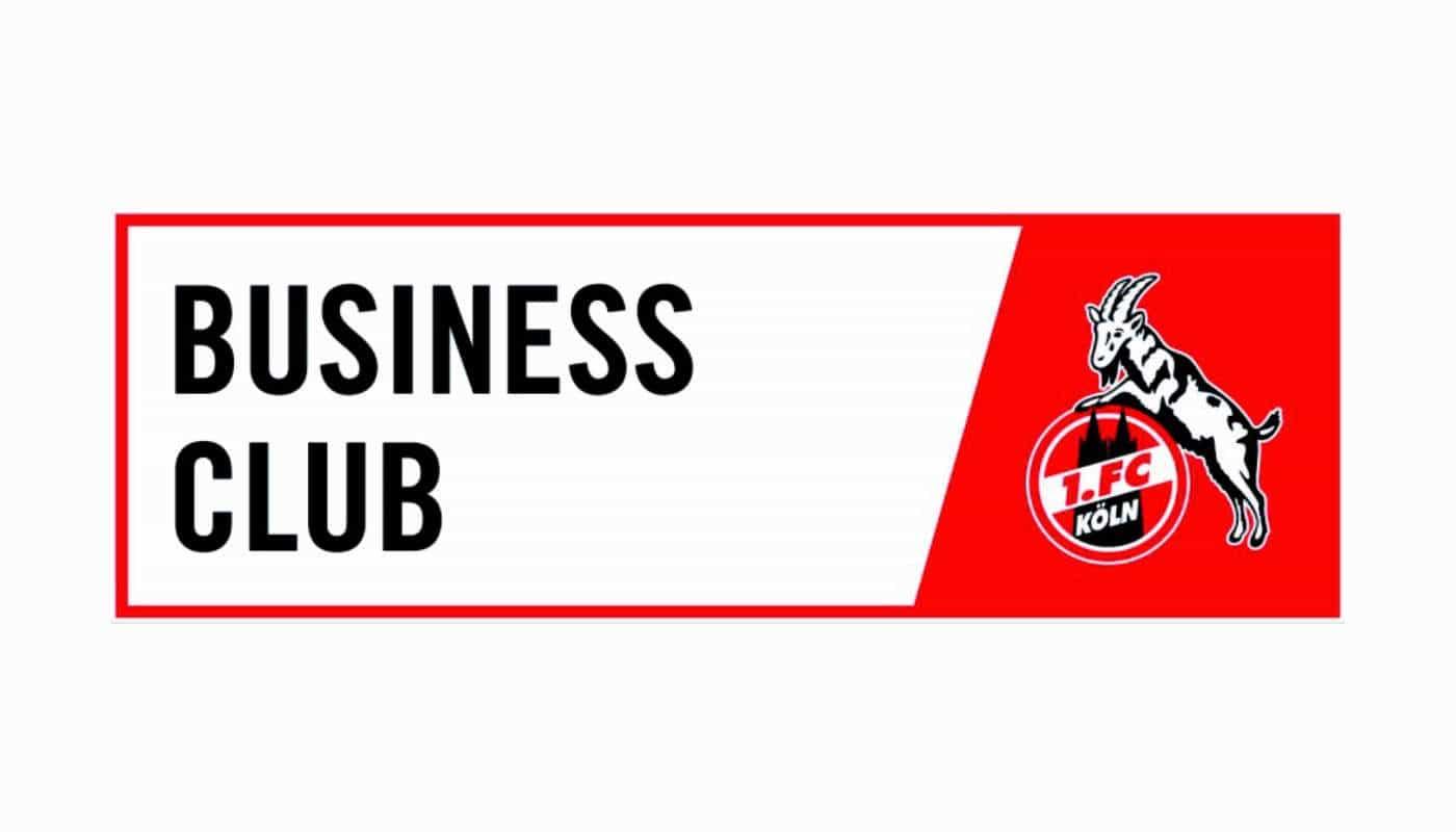 Logo 1. FC Köln Business Club, ein Partner der Wallenborn Sporthopädie GmbH
